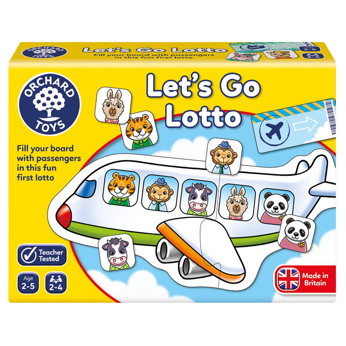 Orchard Toys - Lets Go Lotto