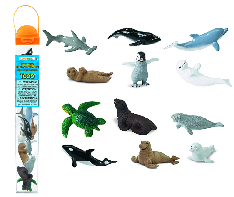 Safari Toob - Baby Sea Life (12pcs)