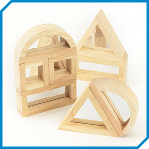 Tickit Wooden Mirror Blocks