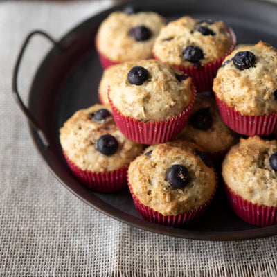Western Honey-Fruit Muffins