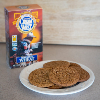 Roasted Wheat Ginger Snaps