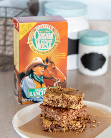 Cream of the West Roasted Ranch Oatmeal Bars