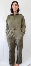 "Load image into Gallery viewer, ""KL-52"" Military Green Coveralls"
