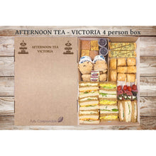 Load image into Gallery viewer, Afternoon Tea -Victoria (From £6.25 per person for a 4 person Box)