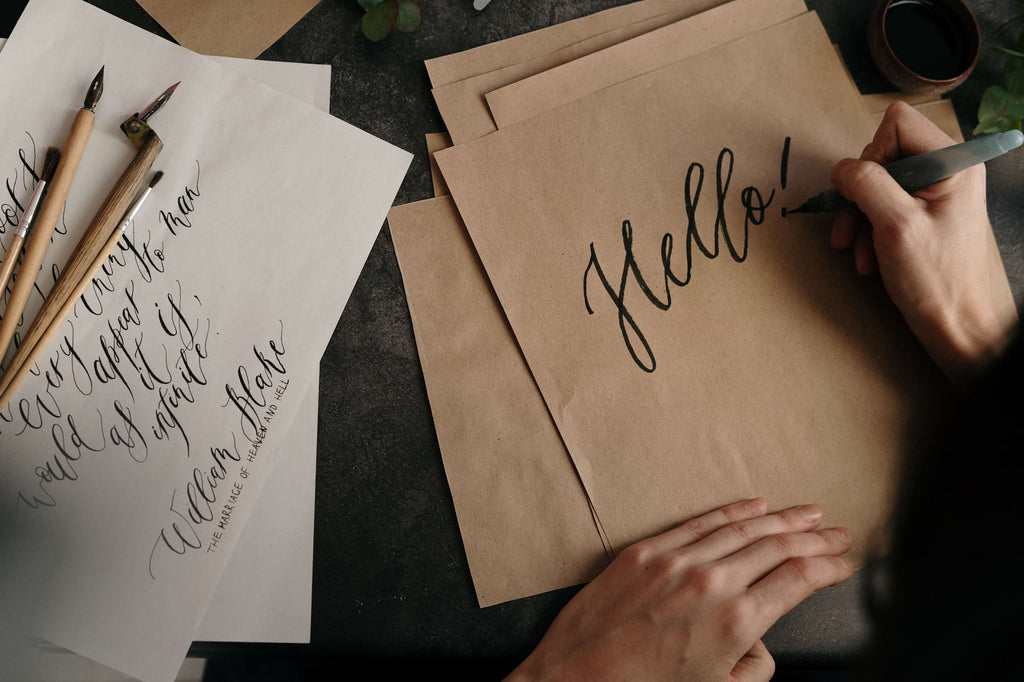 The use of creative fonts for branding is one way to get a product or service to stand out.