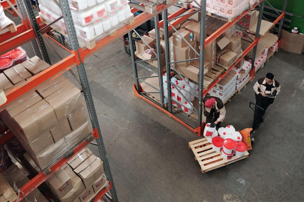 Warehouse workers importing products that aren't available domestically.