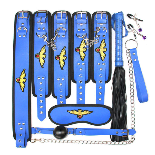 BDSM Gear 7 PCS Set-Mistress restraints bed