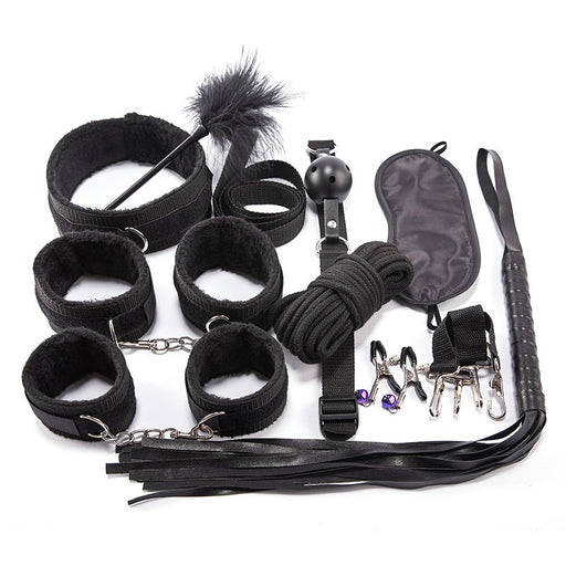 BDSM Gear 10PCS Set-Tied Up Like A gift