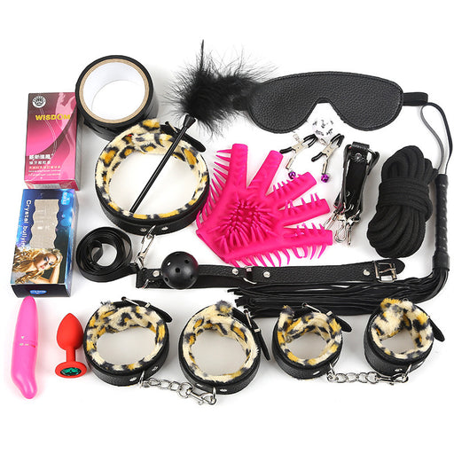 BDSM Gear 17PCS Set- Trunk Captive