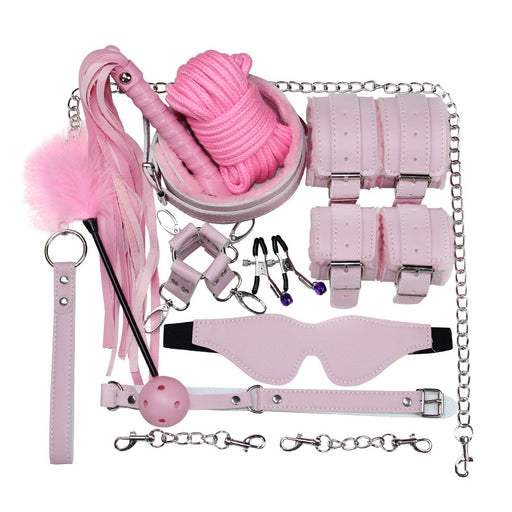 BDSM Gear 10 PCS Set- Hopeless Struggling