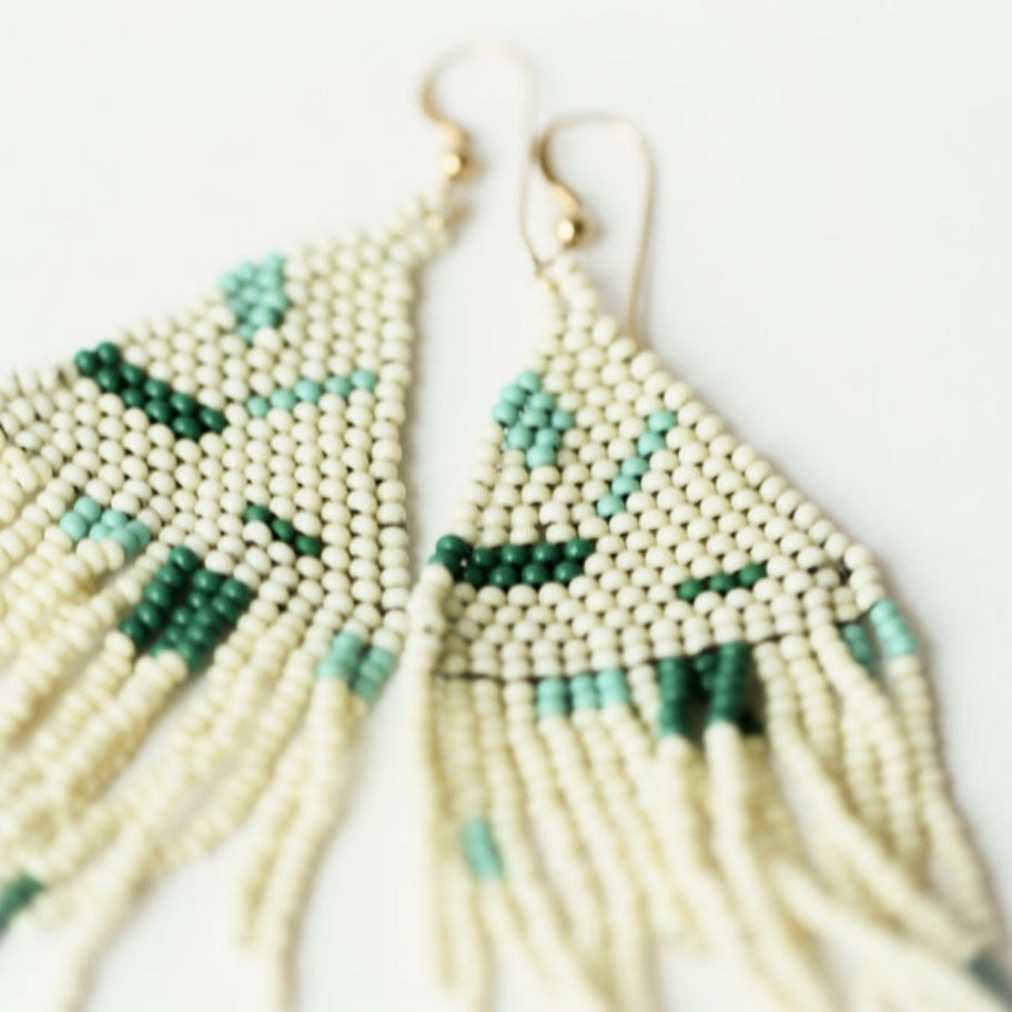 Haiti Design Co Fringe Earring