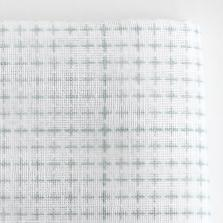 Daruma - Sashiko Fabric with Pre-printed Grid - white