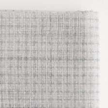 Daruma - Sashiko Fabric with Pre-printed Grid - Grey