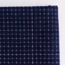 Daruma - Sashiko Fabric with Pre-printed Grid - Indigo