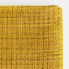 Daruma - Sashiko Fabric with Pre-printed Grid - Mustard