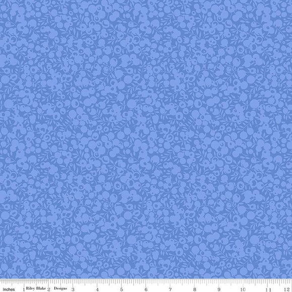 Liberty Fabrics Wiltshire Shadow Blender Collection - 5697 Cornflower