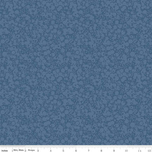 Liberty Fabrics Wiltshire Shadow Blender Collection - 5703 Chambray