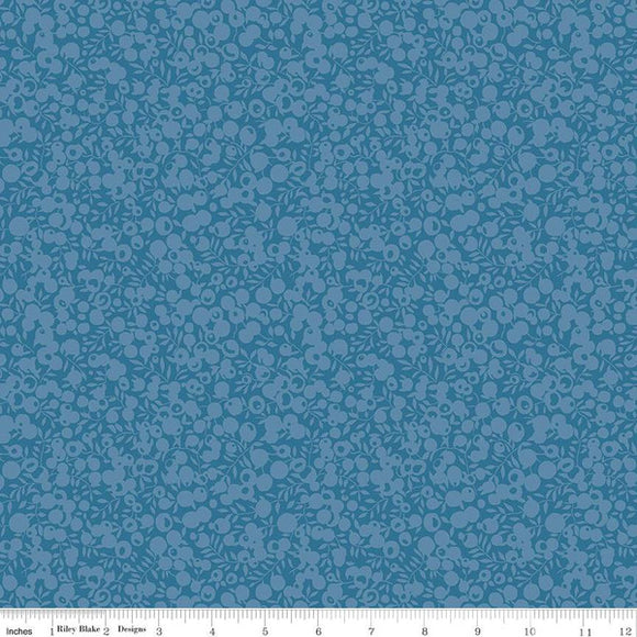 Liberty Fabrics Wiltshire Shadow Blender Collection - 5704 Azure