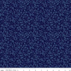 Liberty Fabrics Wiltshire Shadow Blender Collection - 5706 Midnight Ink