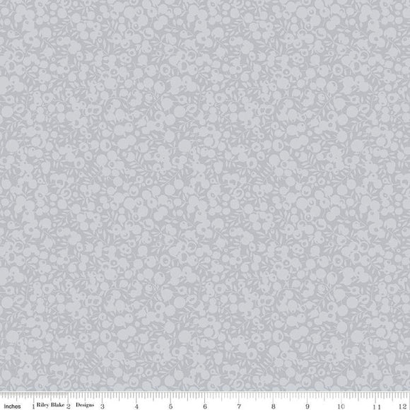 Liberty Fabrics Wiltshire Shadow Blender Collection - 5711 Dove