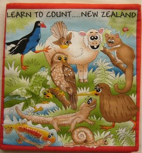 New Zealand 1-2-3 Learn to Count Panel Book (90 x 105 cm)