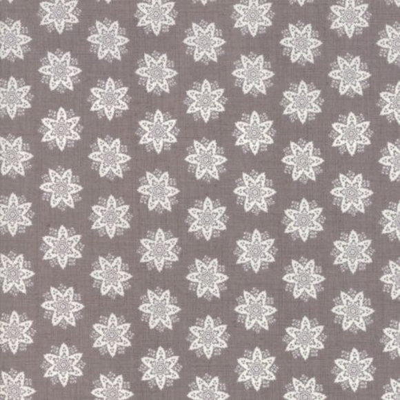 French General Fleur De Noel Collection - Anemone in French Grey and Pearl