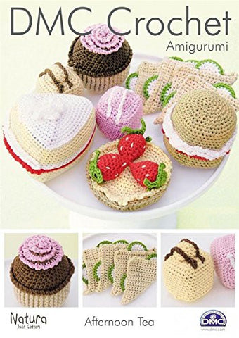 DMC Crochet Pattern - Amigurumi Afternoon Tea