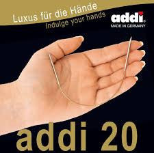 ADDI - Fixed Circular Needles - 20 cm long
