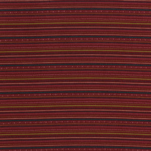 Highlands - Stripes on dark red