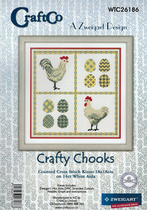 Cross Stitch Kit - Crafty Chooks