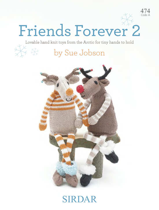 Sirdar Knitting Pattern 474 - Snuggle Dollies 2