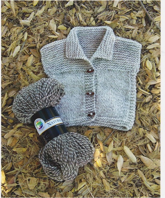 Countrywide Knitting Pattern P58 - Toddlers Sleeveless Vest in Chunky for 2-6 years