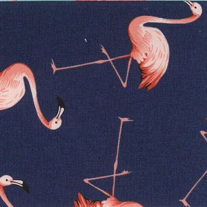 Nagai - Flamingos on Navy background