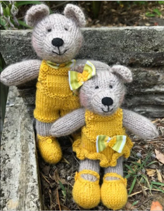 Knitting kit - Adelaide and Gilbert Bears