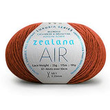 Zealana - Air Lace Possum/Cashmere/Silk Yarn - 2-ply / Lace weight