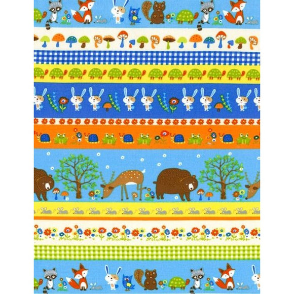 Adorable Children's print with animals - Bears, Bunnies, Deer, Frogs and more!