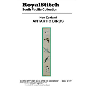 Cross-stitch chart - Royal Stitch New Zealand Antarctic Birds