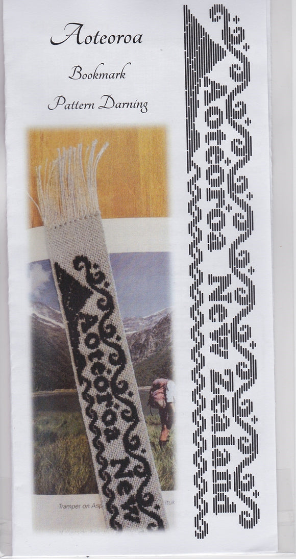 Embroidery Bookmark Kit - Aoteoroa