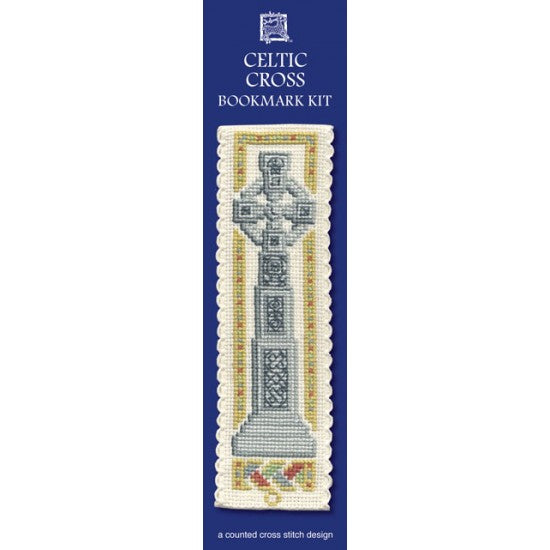 Cross-stitch bookmark kit - Celtic Cross