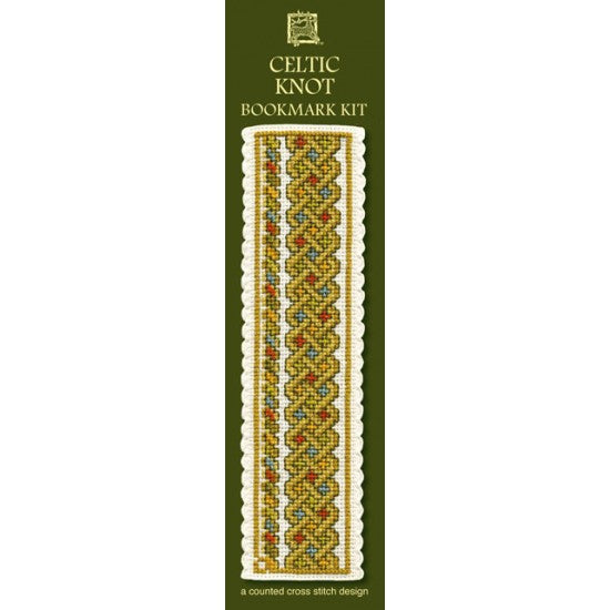 Cross-stitch bookmark kit - Celtic Knot