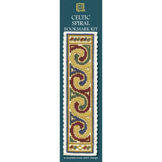 Cross-stitch bookmark kit - Celtic Spiral