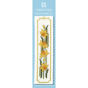 Cross-stitch bookmark kit - Daffodil
