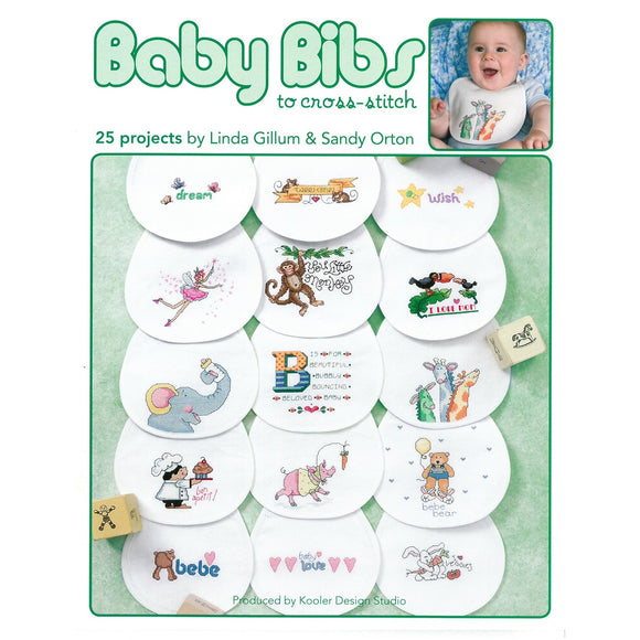Baby Bibs to Cross-Sttitch