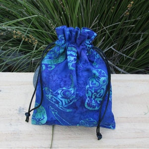Gift Bag - made from New Zealand Batik design