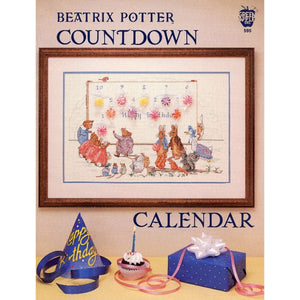 Cross-stitch chart - Beatrix Potter's Countdown to your Birthday Calendar