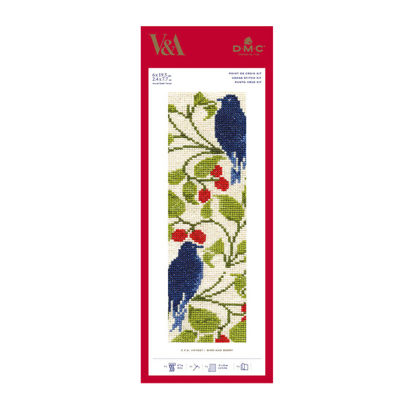Victoria & Albert Museum Bookmark Kits - 'Bird and Berry' by Charles Voysey