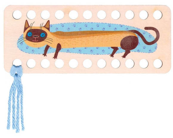 Buratini Floss Organizer - Siamese Kitty