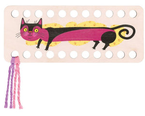 Buratini Floss Organizer - Pink Kitty