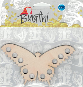 Buratini Floss Organizer - Paintable Butterfly