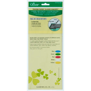 Clover C434- Chacopy Tracing Paper - 5 sheets per pack